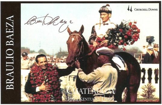 Kentucky Derby Braulio Baeza