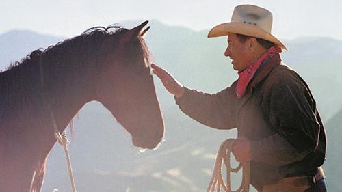 Horseman Monty Roberts