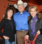 Monty, Debbie and Janet at EIFF for equine event for EIFF website